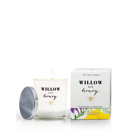 Willow and Honey Eau Verbena Candle - Transparent