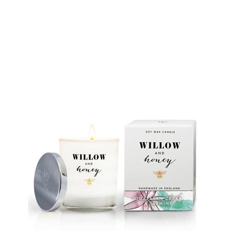 Willow and Honey Himalayan Cedar And Jasmine Candle - Transparent