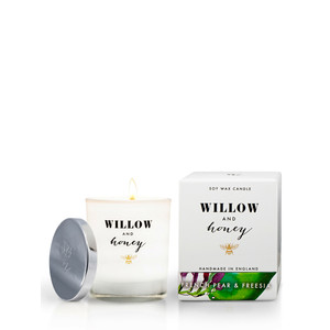 Willow and Honey French Pear And Freesia Candle