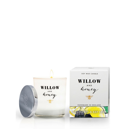 Willow and Honey Blackberry And Bay Leaf Candle - Transparent