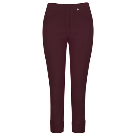 Robell Trousers Bella 7/8 Ankle Length Trouser - Purple