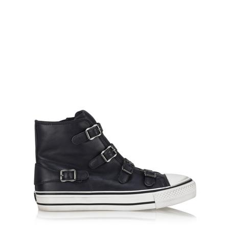 Ash Virgin Classic Buckle Trainer Shoe - Black