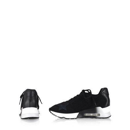 Ash Lucky Star Trainer Shoe - Black