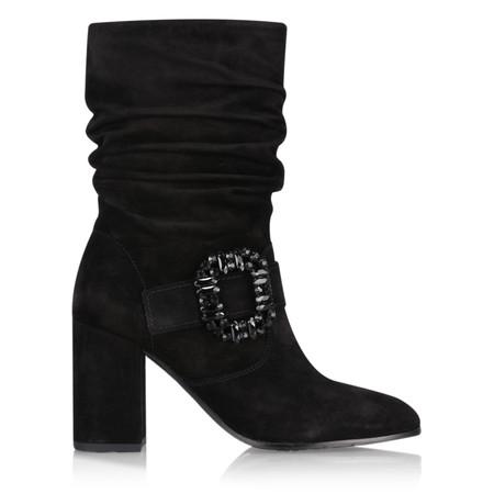 Kennel Und Schmenger Caro Crystal Buckle Ankle Boot - Black