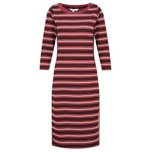 Sandwich Clothing Striped Jacquard Dress