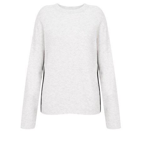 9503cac8e454a Sandwich Clothing Soft Wool Knit - White