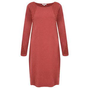 Sandwich Clothing French Terry Star Panel Dress