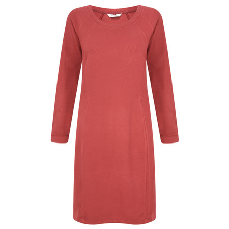 Sandwich Clothing Knitted Dobby Dress - Red