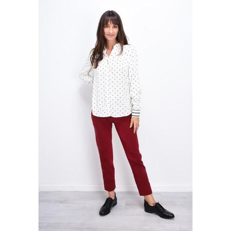 Sandwich Clothing Little Dots Flowy Shirt - White