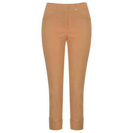 Robell Trousers Bella 7/8 Ankle Length Trouser - Brown