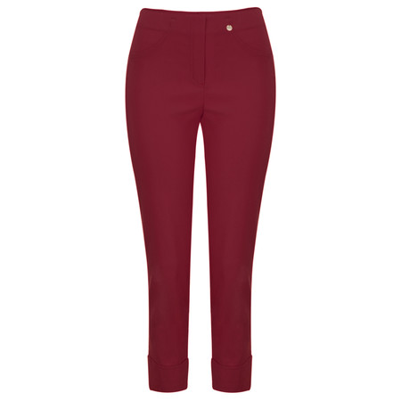 Robell Trousers Bella 7/8 Ankle Length Trouser - Red