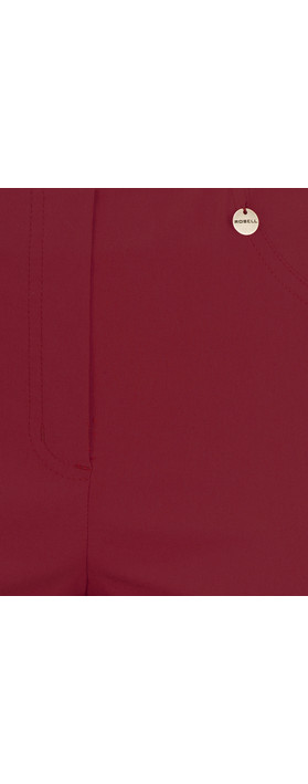Robell Trousers Bella 7/8 Ankle Length Trouser Wine