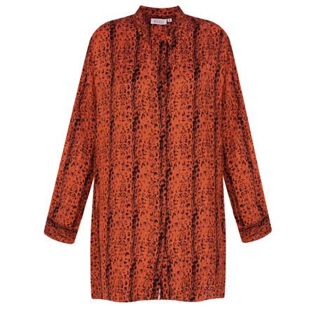 Masai Clothing Indissa Blouse - Orange