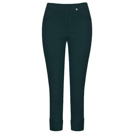 Robell Trousers Bella 7/8 Ankle Length Trouser - Green