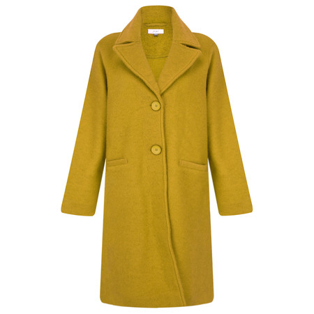 Adini Ferrara Wool Claudia Coat - Yellow