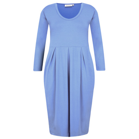 Masai Clothing Nova Jersey Dress - Blue