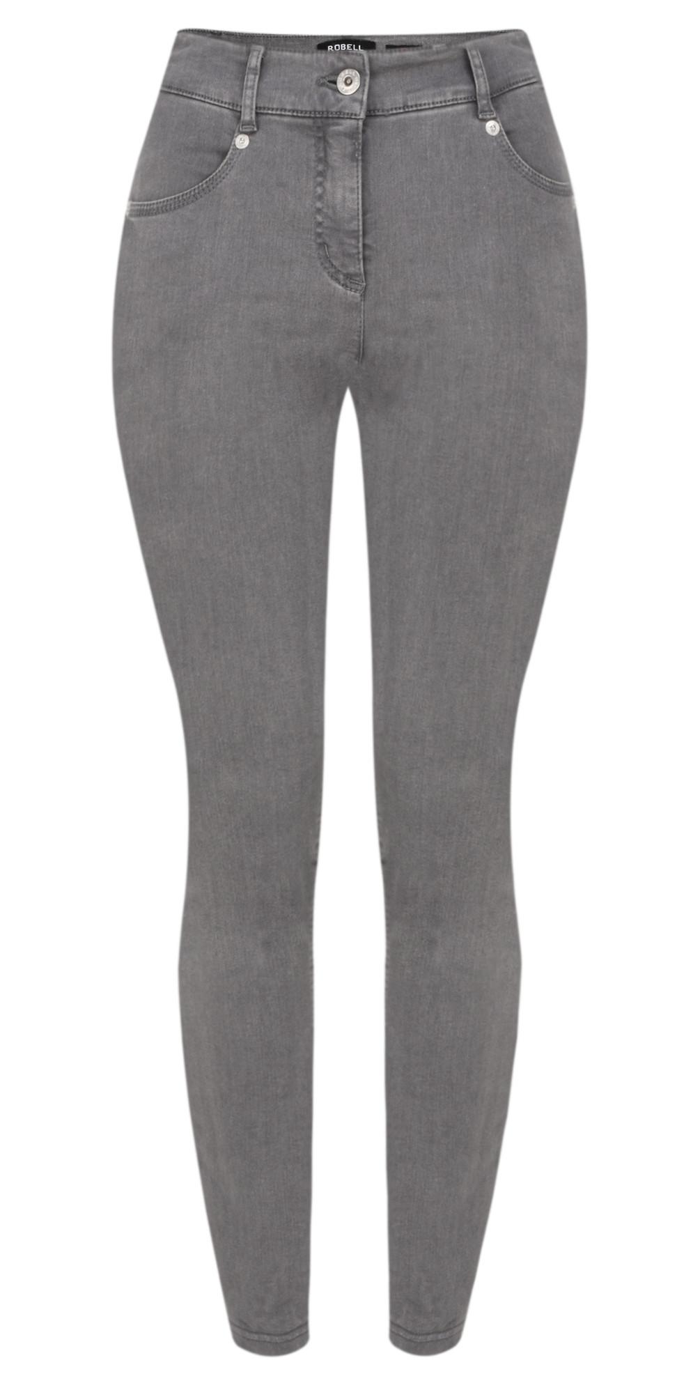 Star Power Stretch Dark Grey Skinny Jean main image
