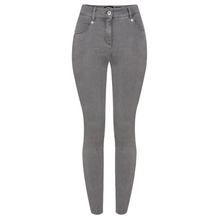 Robell Trousers Star Power Stretch Skinny Jean - Grey