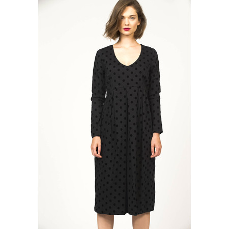 Myti by Myrine Big Dots Comfort Dress - Black