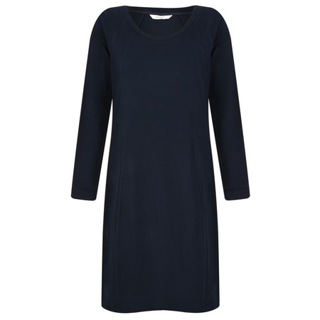 Sandwich Clothing Knitted Dobby Dress - Blue