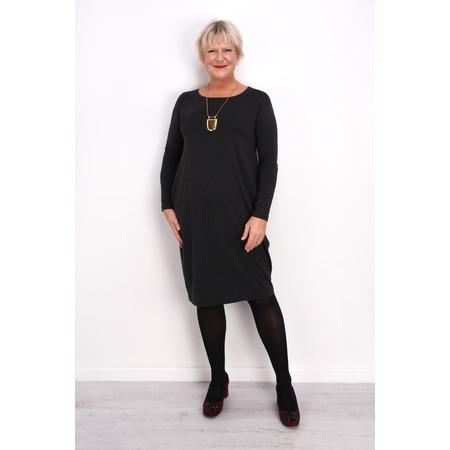 Mama B Crasi Fitted Jersey Dress - Grey