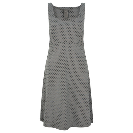 Myti by Myrine Small Dot Print Dress - Grey