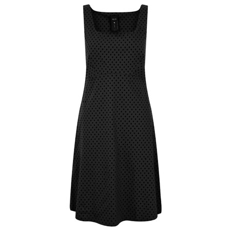 Myti by Myrine Small Dot Print Dress - Black