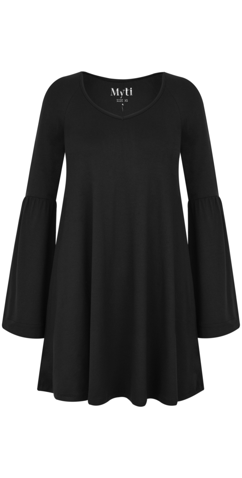 Wide Sleeve Jersey Crepe Top main image