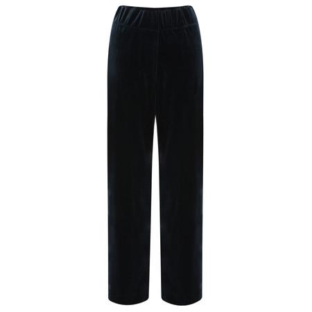 Myti by Myrine Plain Velvet Trousers - Black