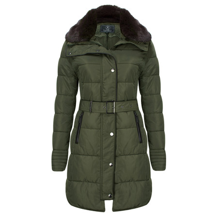 RINO AND PELLE Quilted Blush Coat - Multicoloured
