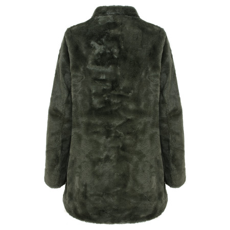 RINO AND PELLE Faux Fur Nonna Coat - Urban Chic