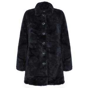 RINO AND PELLE Nonna Faux Fur Coat