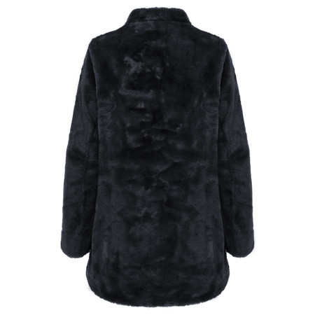 RINO AND PELLE Nonna Faux Fur Coat - Blue