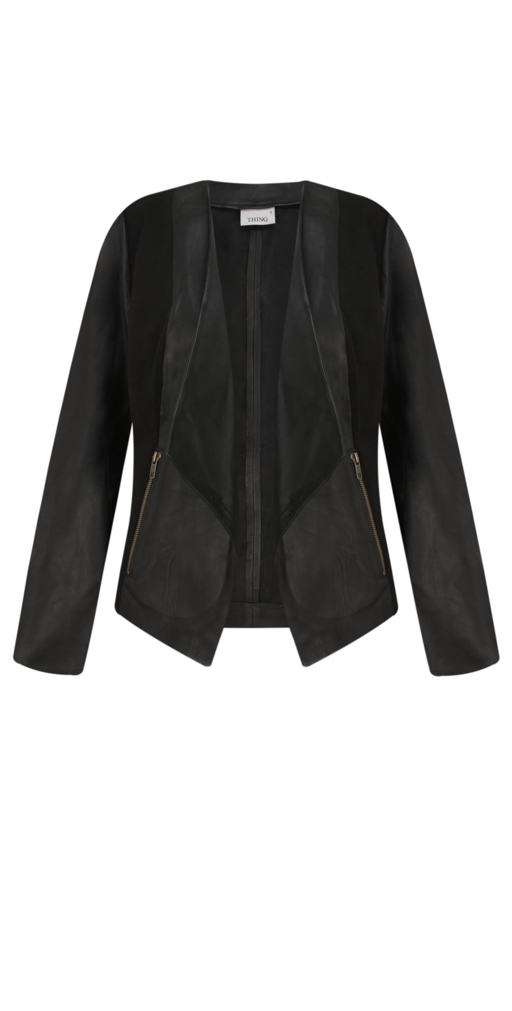 Waterfall Leather Jacket main image