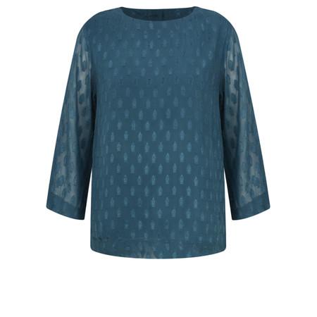 Adini Seraphin Weave Seraphin Blouse - Blue