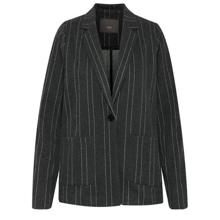 ICHI Kate Brushed Jacket - Black