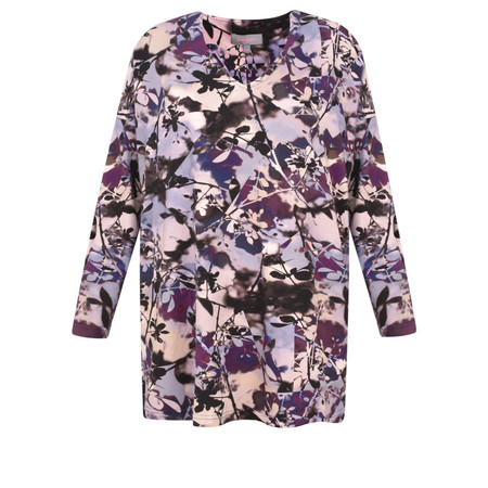 Sahara Shadow Flower Print Top - Multicoloured
