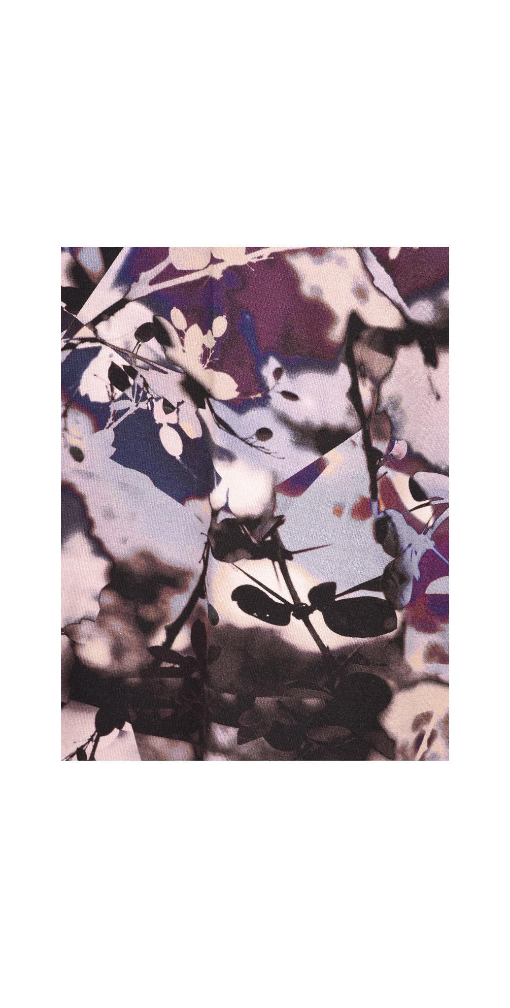 Shadow Flower Print Top main image