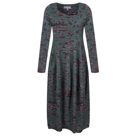 Sahara Tapestry Floral Jersey Dress - Multicoloured