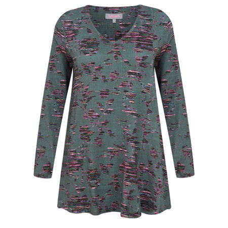 Sahara Tapestry Floral Jersey Top - Multicoloured
