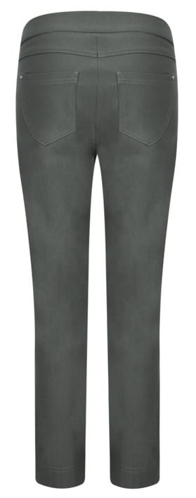Robell  Nena 09 Stretch Ankle Length Trouser Grey