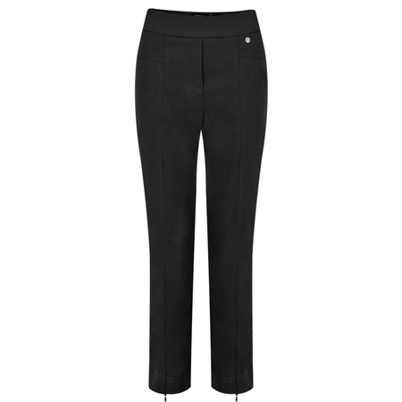 Robell Trousers Nena 09 Stretch Ankle Length Trouser - Black