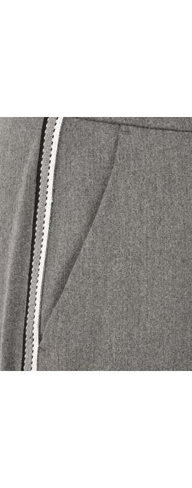 Robell Trousers Ginger Smart Fabric Full Length Trouser Grey