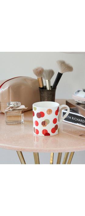 Caroline Gardner Metallic Spot Boxed Mug Multi