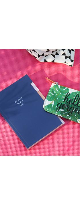 Caroline Gardner Multi Tab Notebook Navy