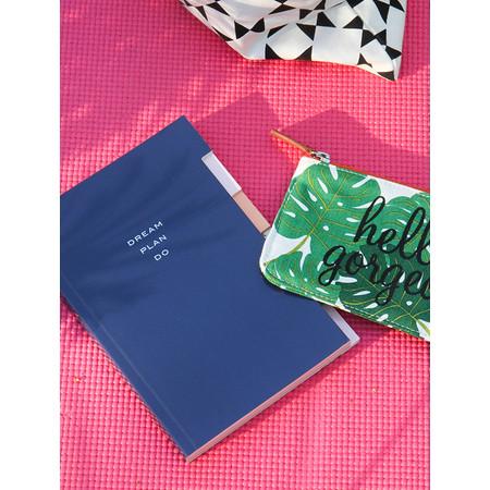 Caroline Gardner Multi Tab Notebook - Blue