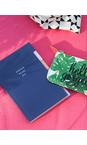 Caroline Gardner Navy Multi Tab Notebook