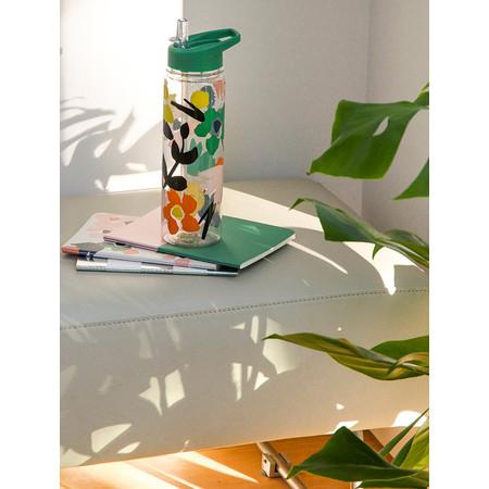 Caroline Gardner Abstract Floral Water Bottle - Multicoloured