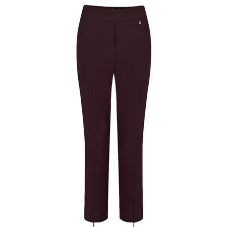 Robell Trousers Nena 09 Stretch Ankle Length Trouser - Purple