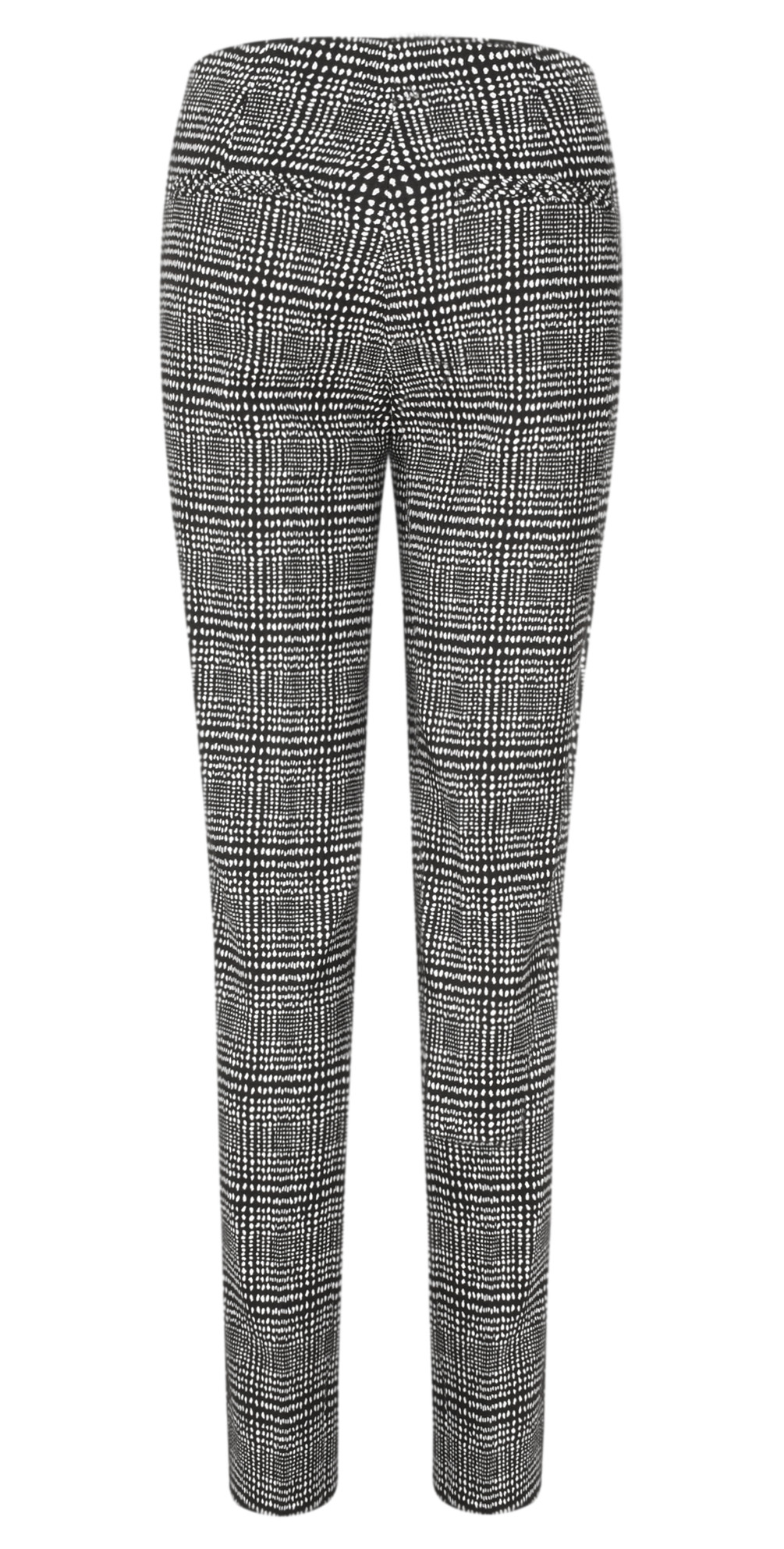 Holly Smart Check Full Length Trouser main image